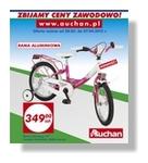 Czas na rower ? wiosenna oferta Auchan